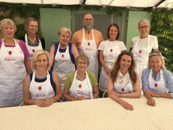 Cooking in Provence class, June 2016