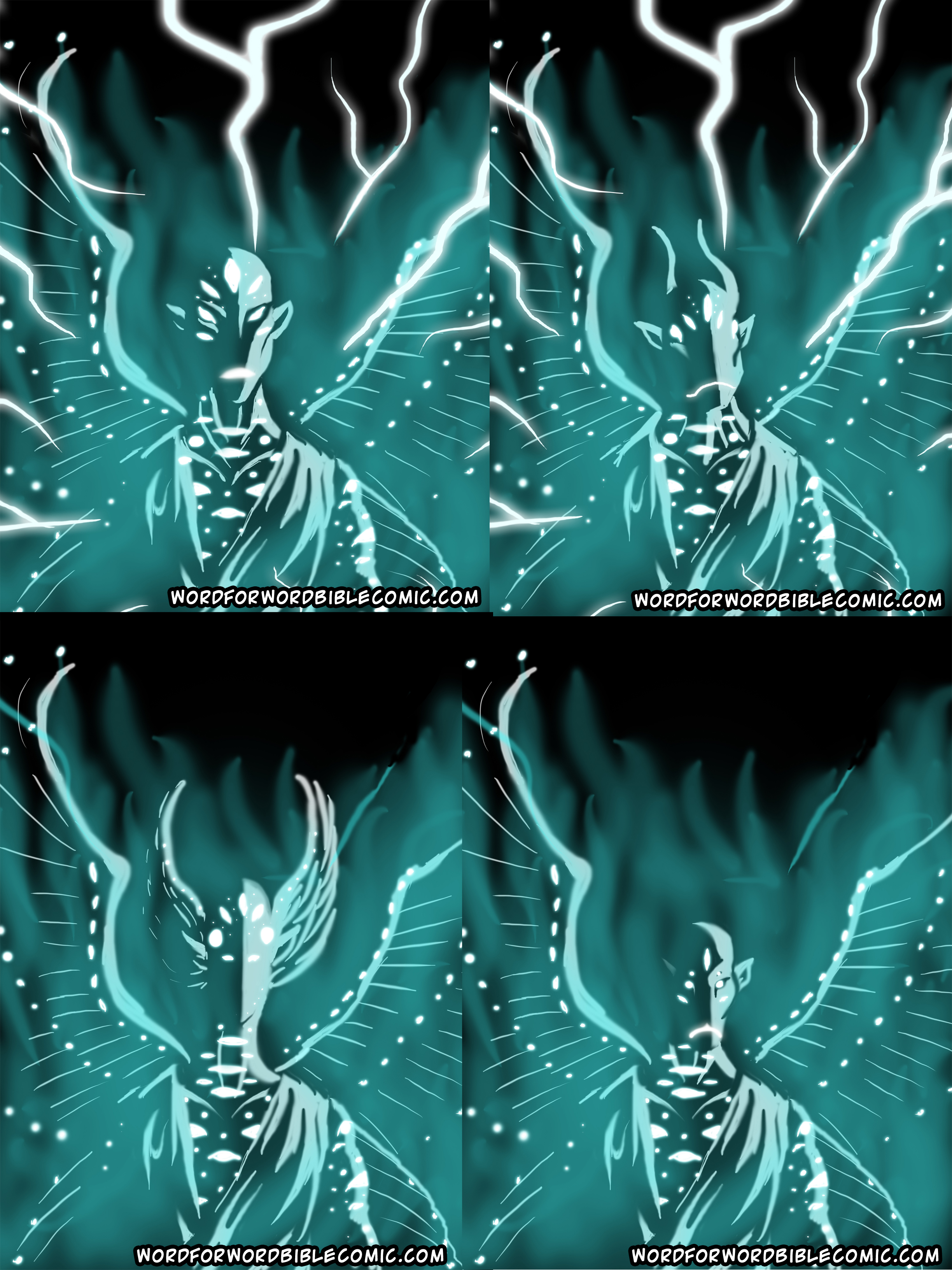 Cherubim Cherub Angel Angels Word for Word Bible Comic