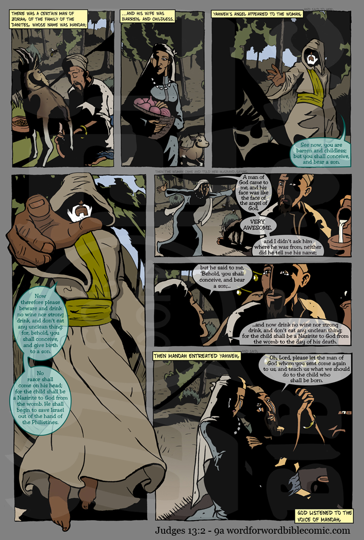 word for word bible comic webcomic page 1
