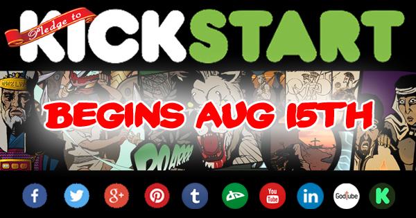 Kickstarter launching aug 15th 2015