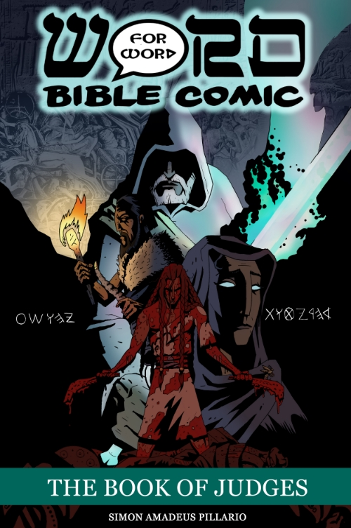 Cover from The Book of Judges : The Word for Word Bible Comic