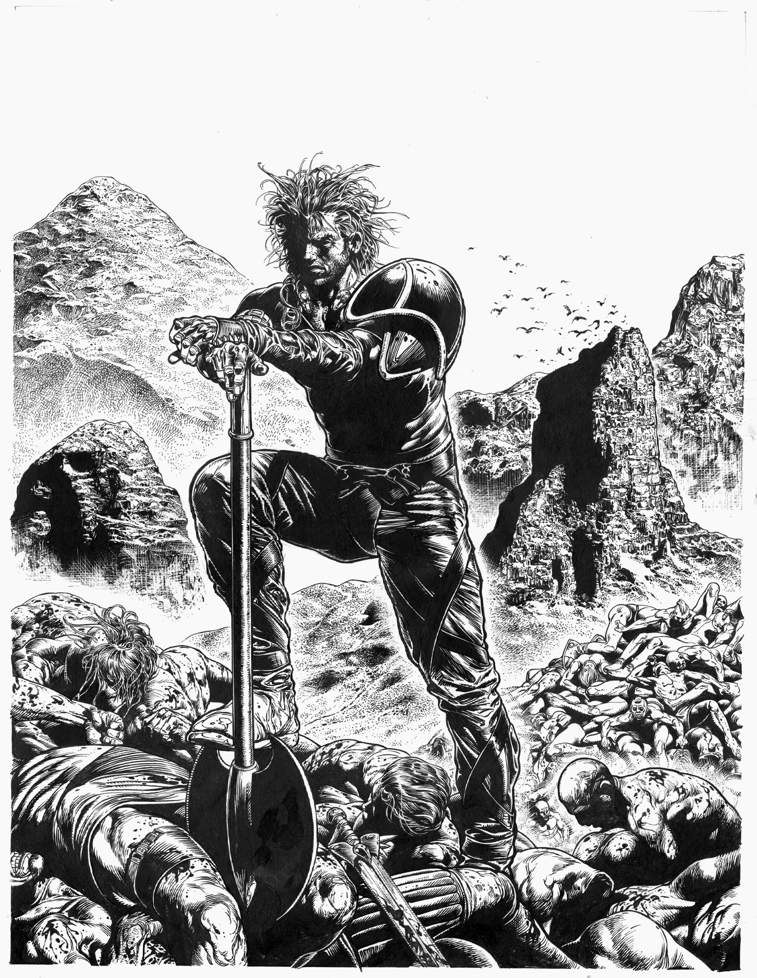 Slaine+by+Glenn+Fabry he didn't think it too many