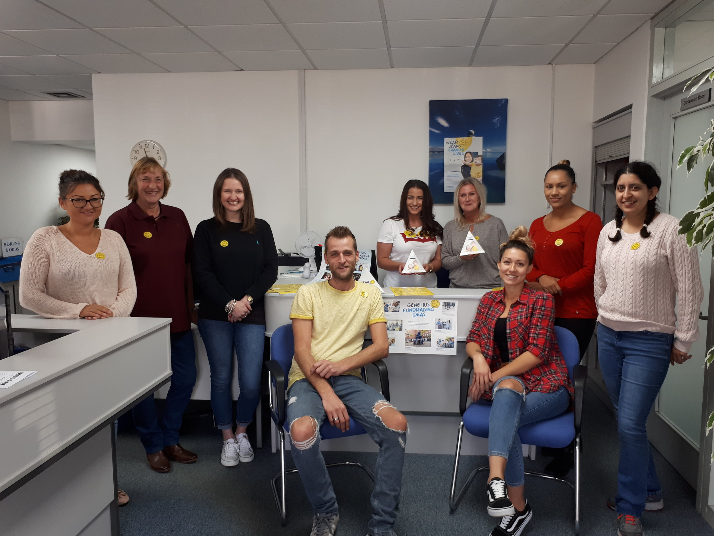 PSC Charity Day - Jeans for Genes day - 20th September 2018