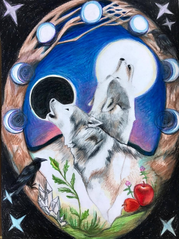 Original Art by Stephanie Seker