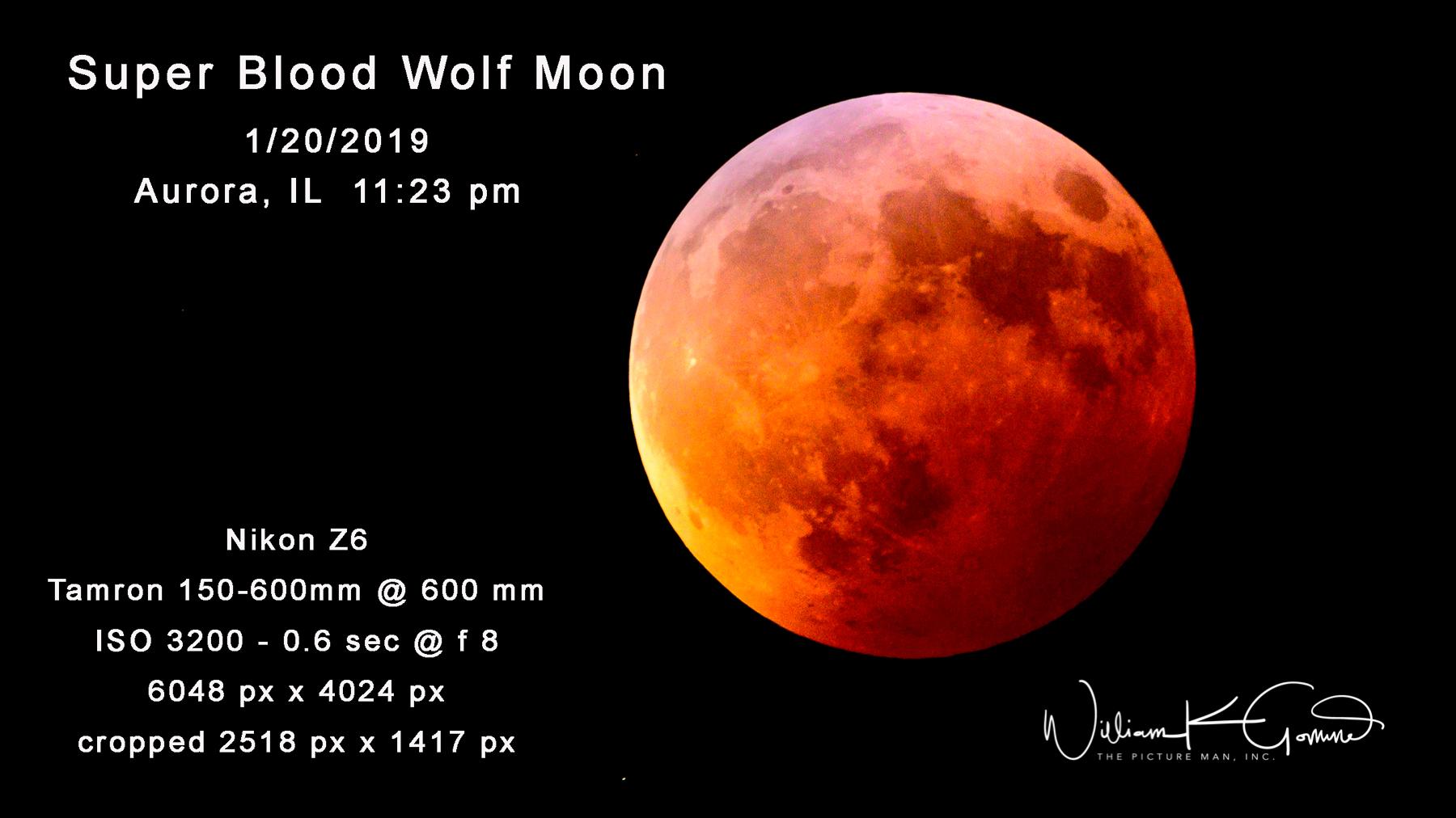 Super Blood Wolf Moon.