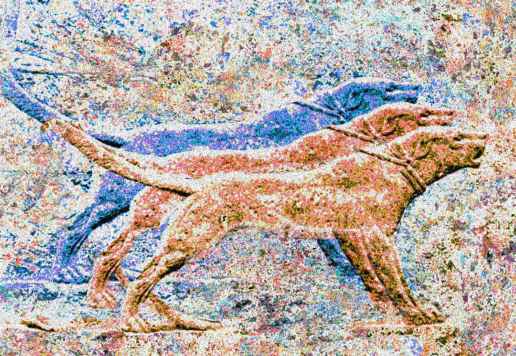 Assyrian hunting dogs, 3