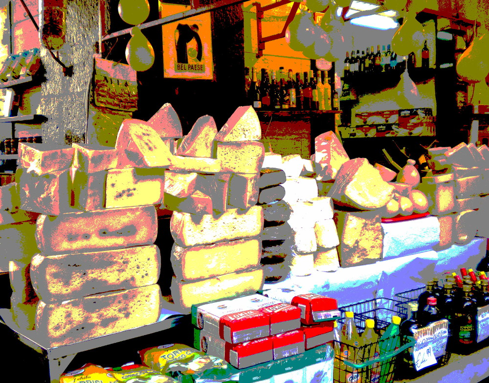 yet another cheese shop in Sicily