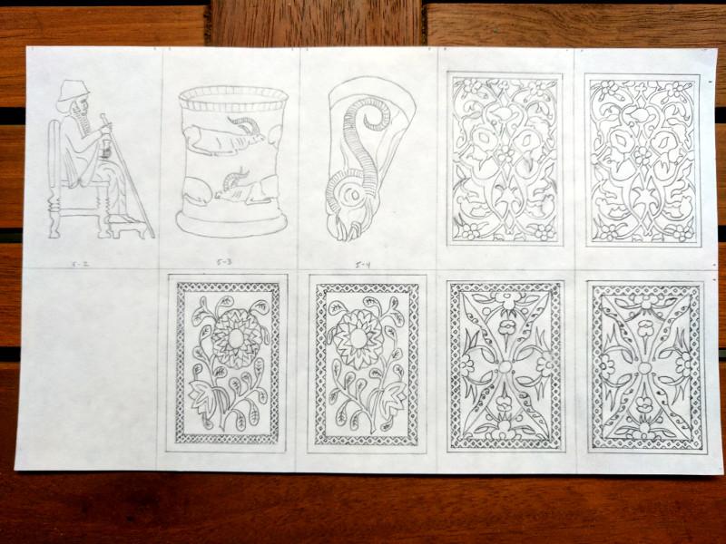 Islamic designs, 3