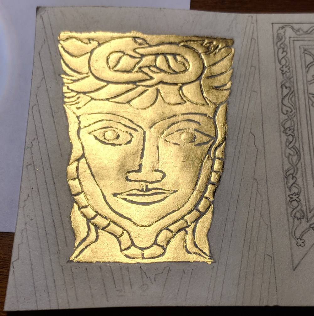first layer of gold