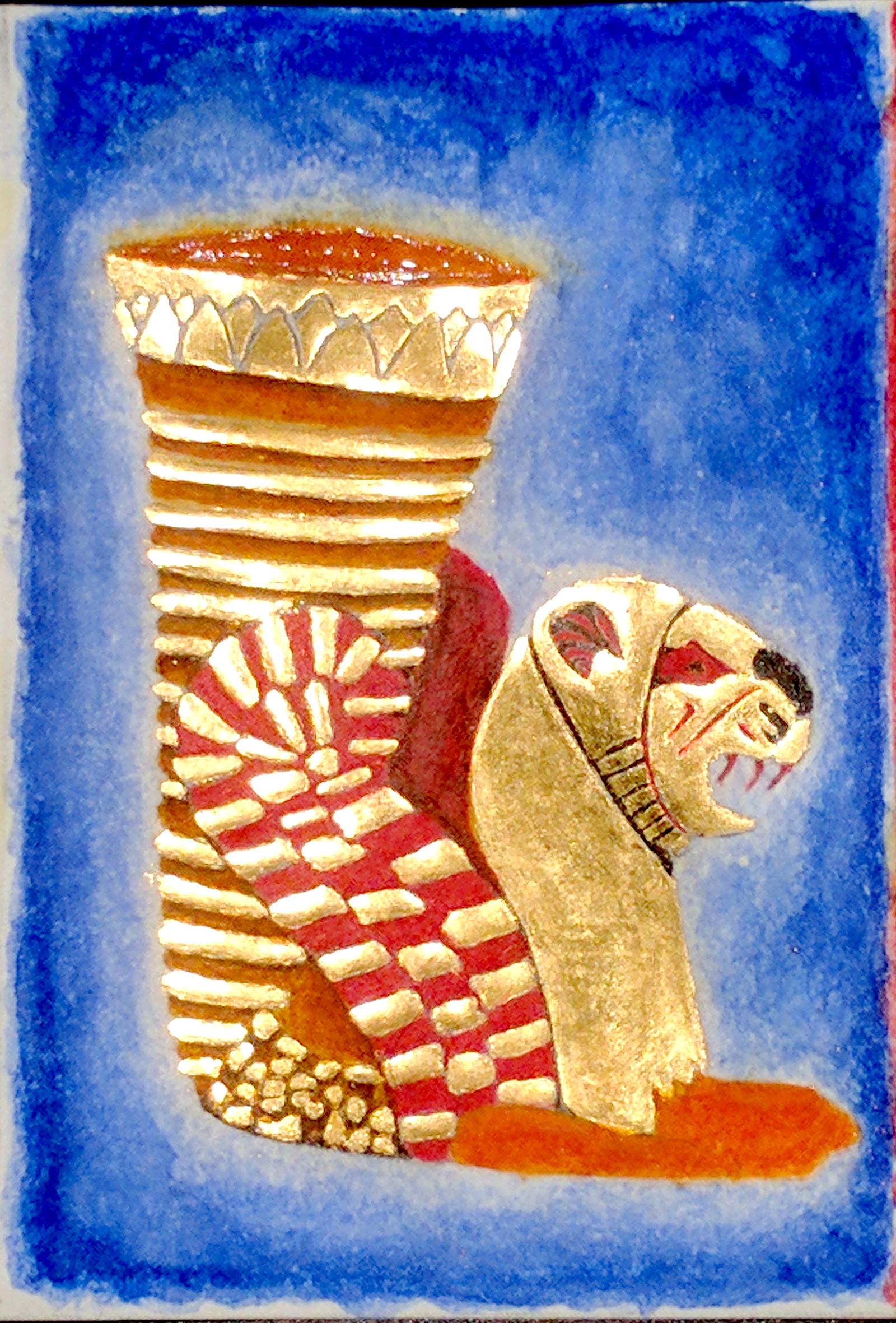 Achaemenid gold rhyton