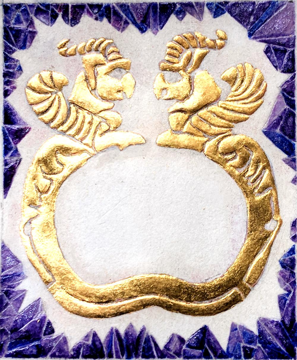 Achaemenid gold bracelet