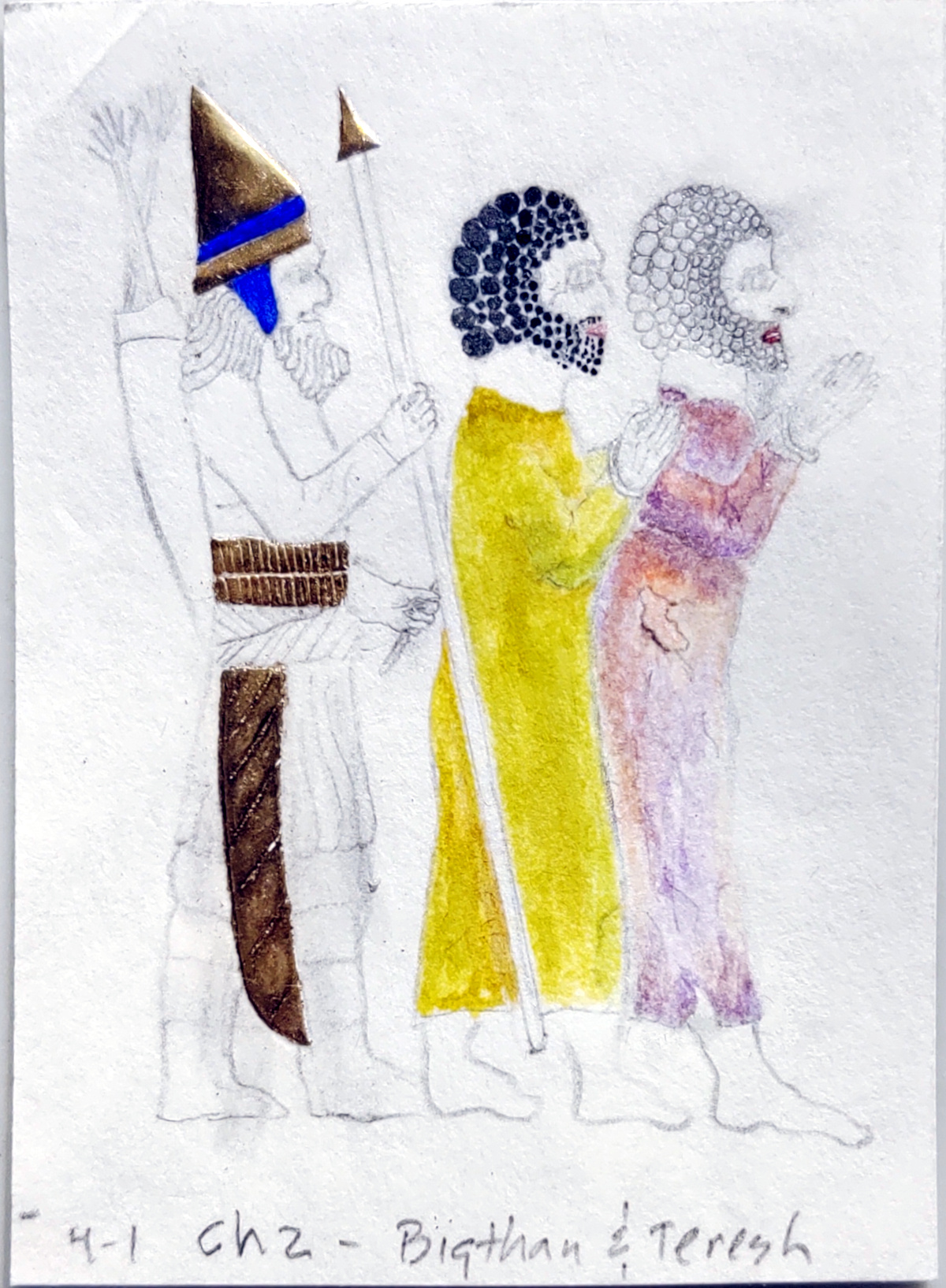 color work, robes