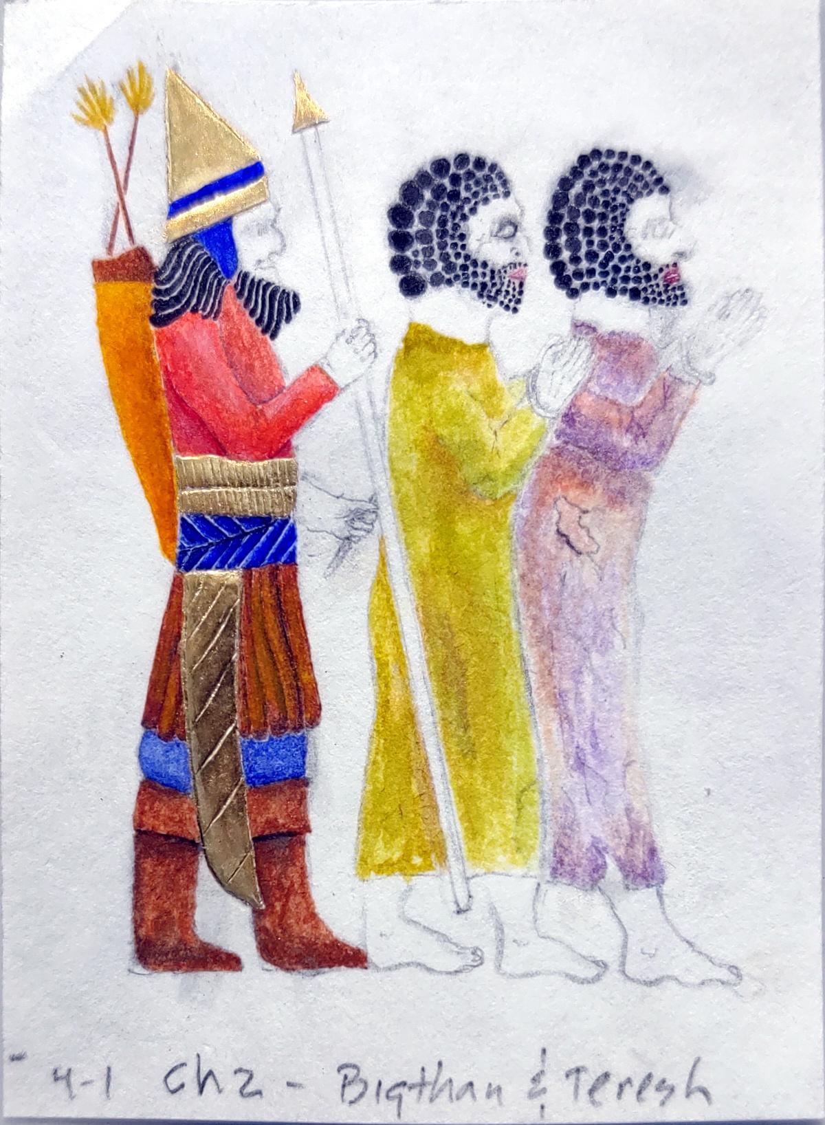 color work, guard's uniform 2