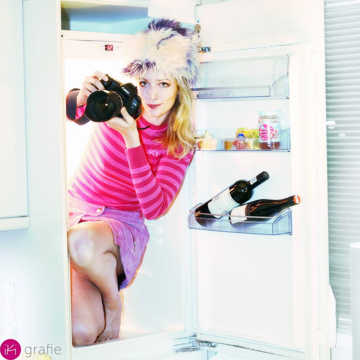 fdotograferen in de koelkast