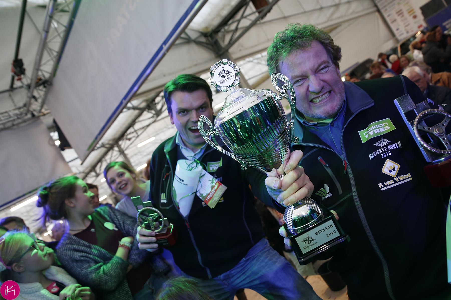 n dan zijn de rijders van Superseven de uitzinnige winnaars!