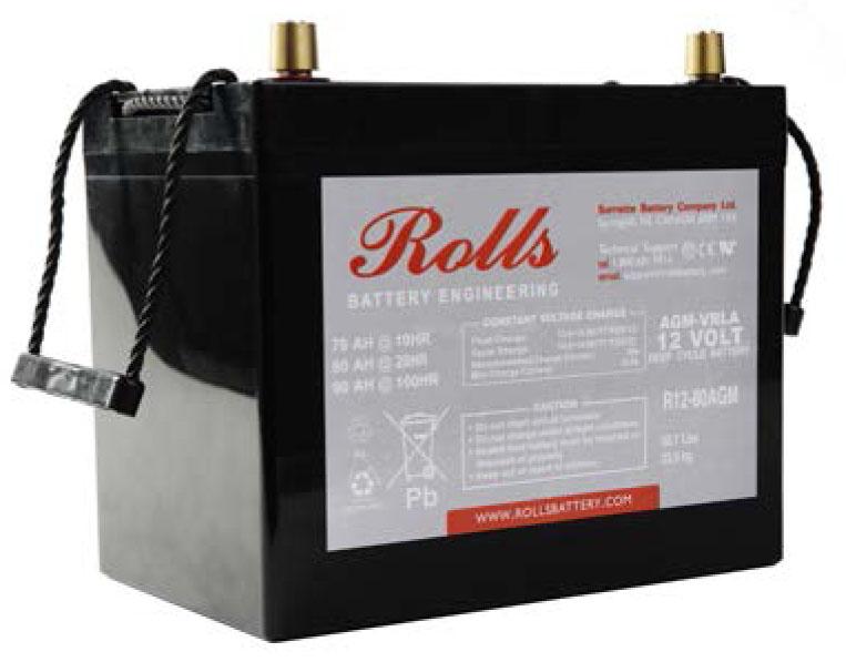 Rolls Канадски AGM 2 акумулатори от най-висок клас