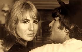 Cynthia and John Lennon