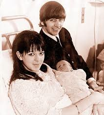 Maureen Starkey, Baby Zak and Ritchie.