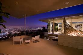 """There's a fog upon LA"" The house in the Hollywood Hills where George waited for his ""friends had lost there way'."