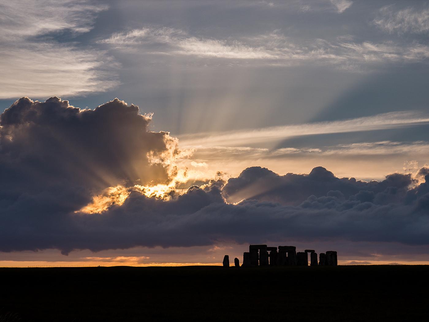 Cloud-break Stonehenge