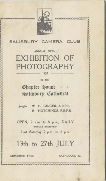Exhibition of Photography 1957