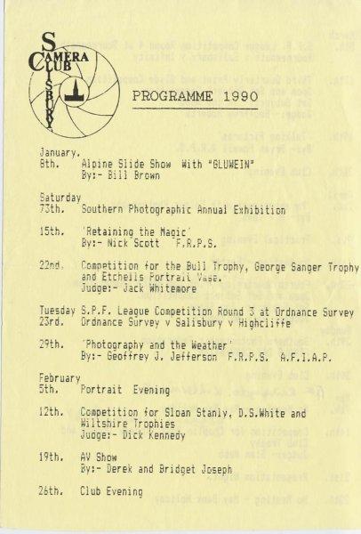 Programe 1990