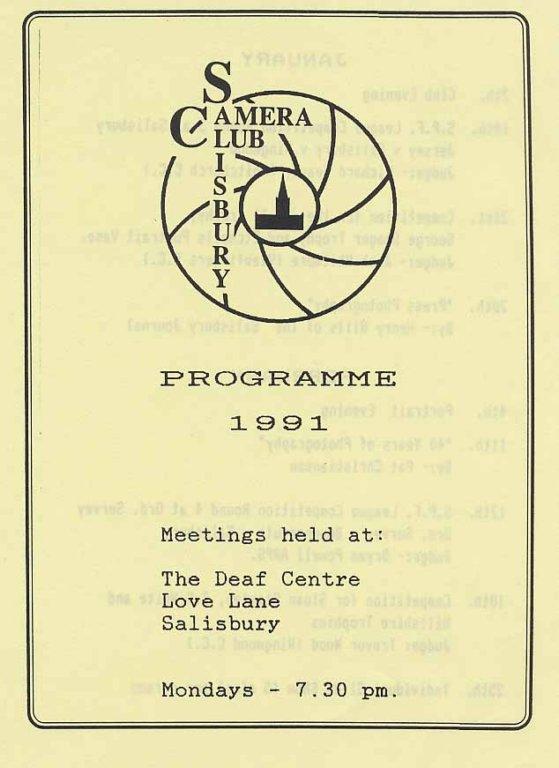 Programme 1991