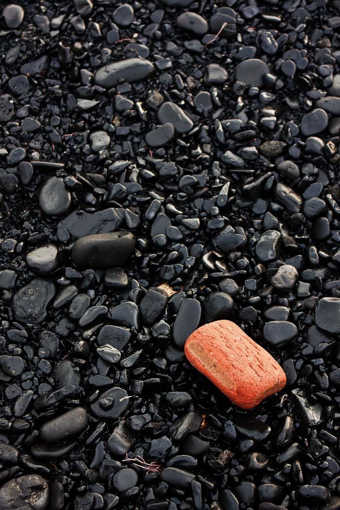 'Brick On Coal Beach' by Peter Read