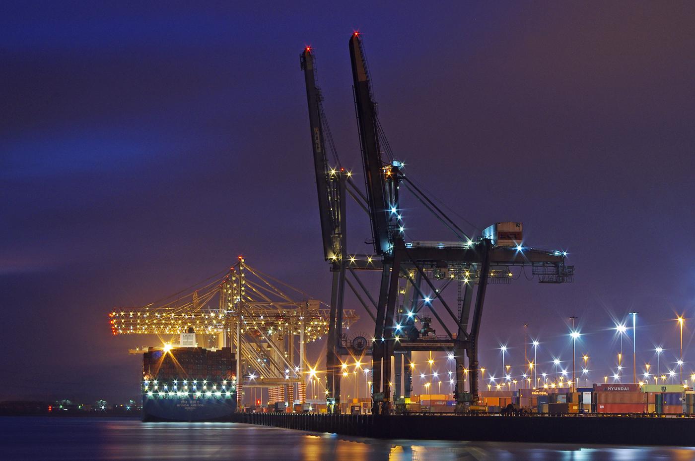 'Southampton Docks' by Richard Ramsey