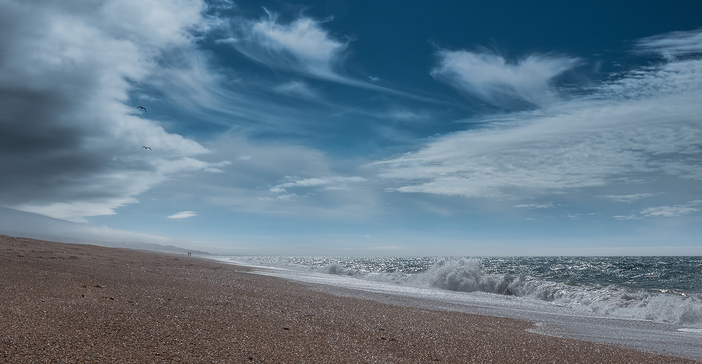 'Chesil Beach After The Storm' by Mark Cooper