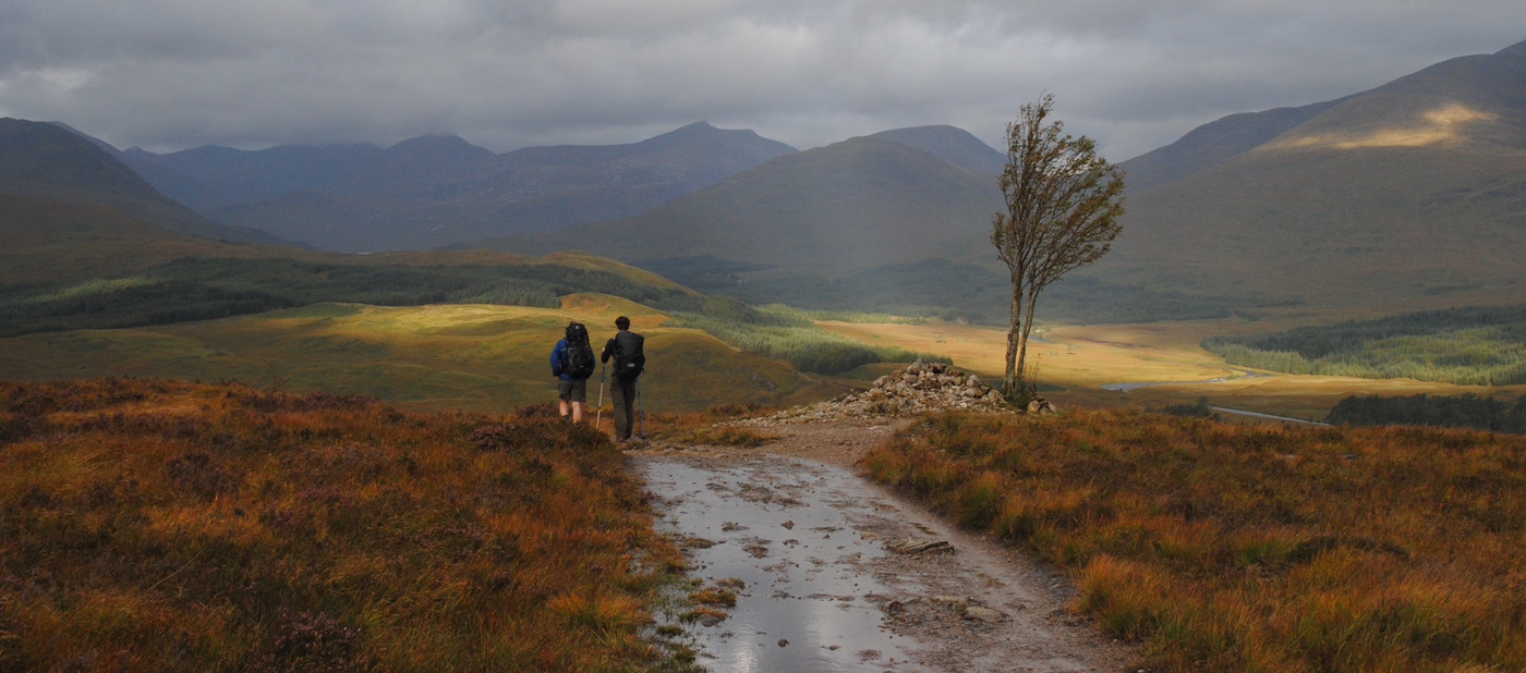 'Walking the West highland Way' by Dave Horscroft