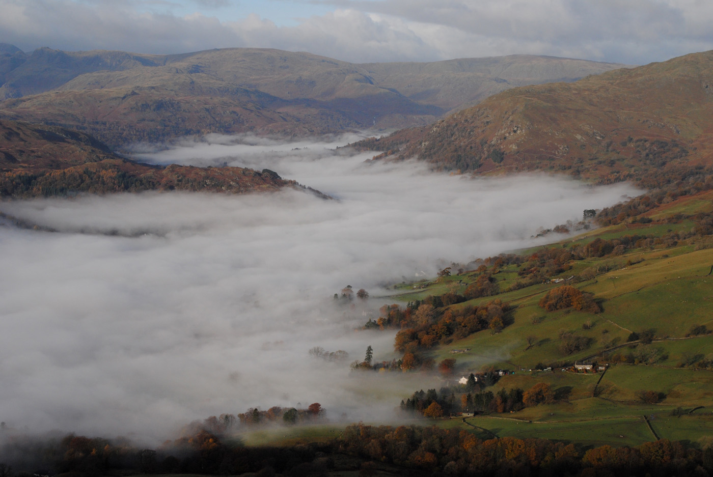 'Rising mist above Ambleside' by Dave Horscroft