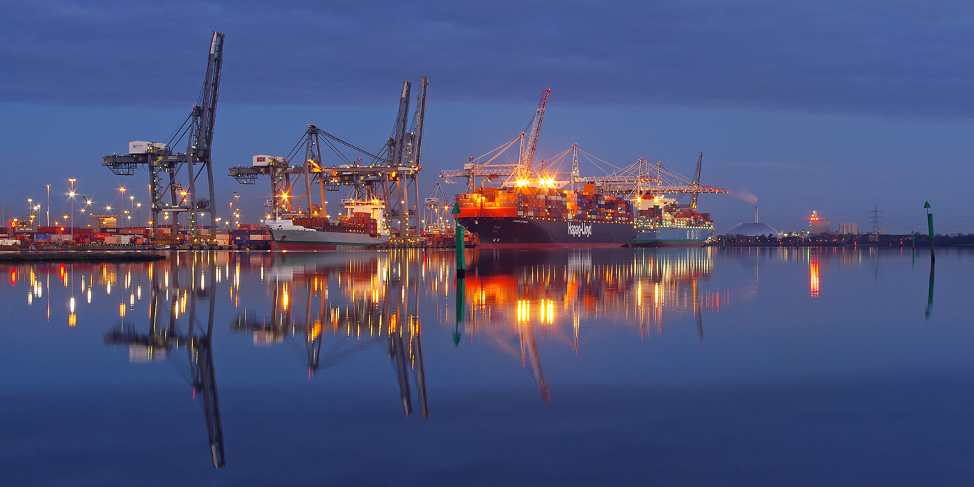 'Container Port' by Richard Ramsey
