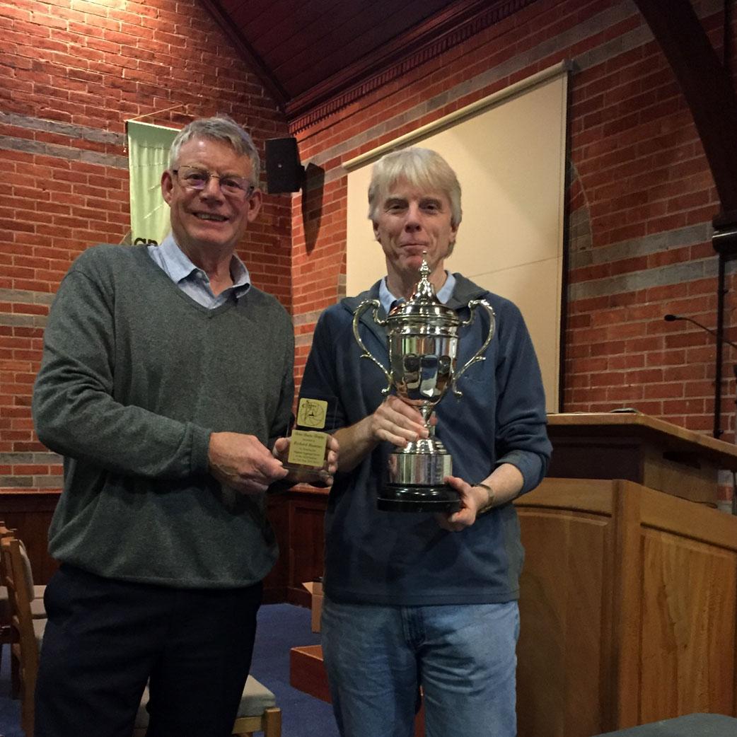 John Burke Trophy Winner Richard Ramsay