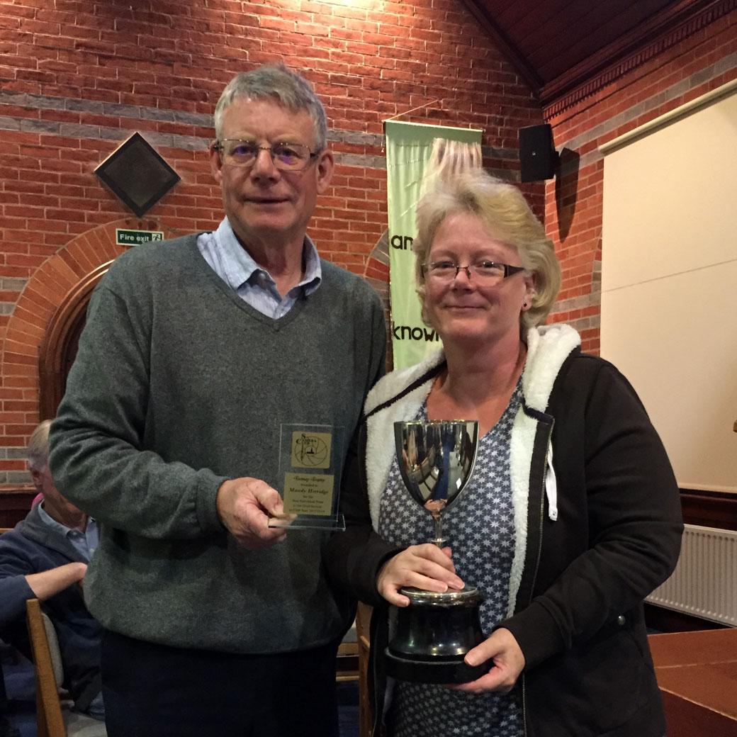 Mary Luckham Cup Winner Mandy Herridge