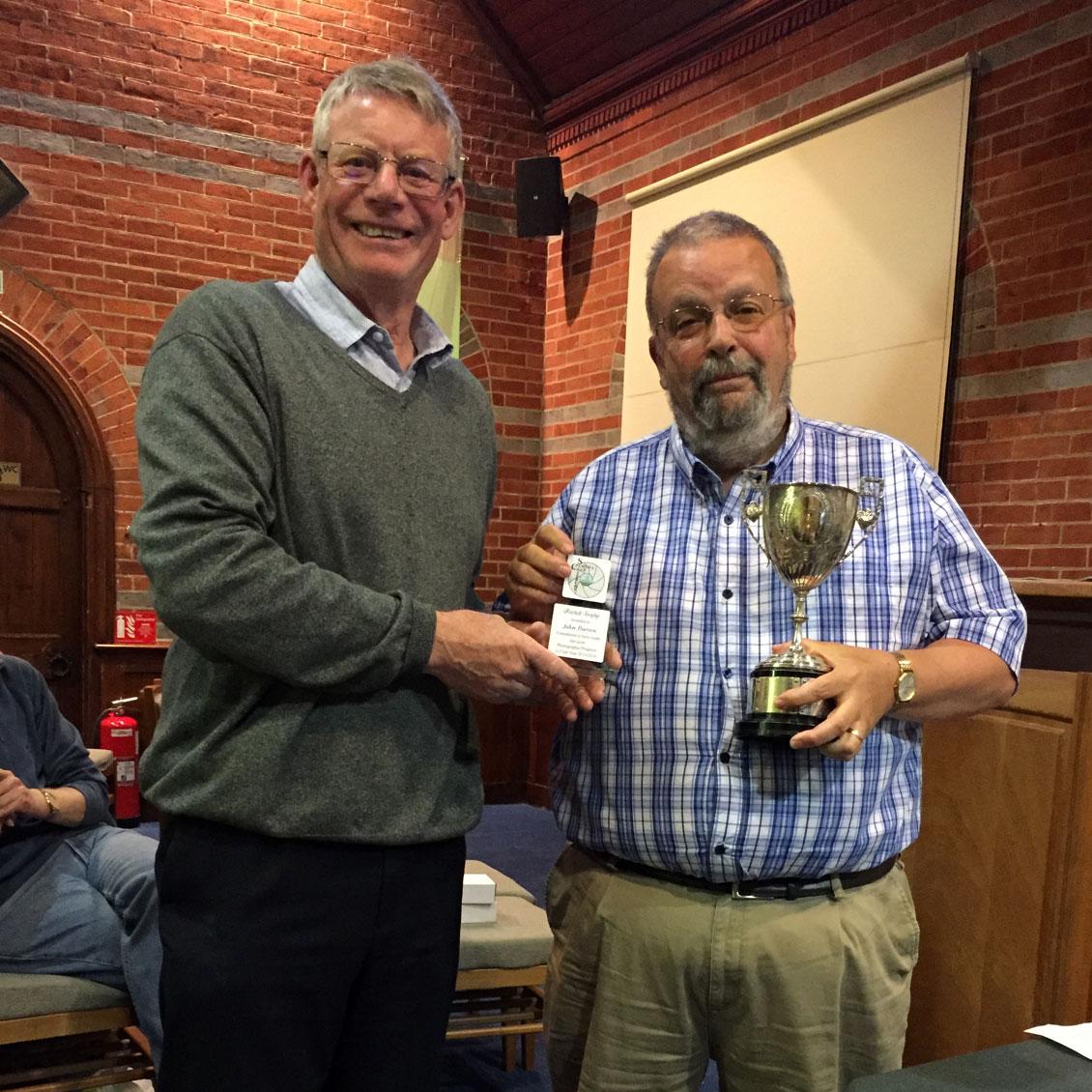 Petchell Trophy Winner John Barton