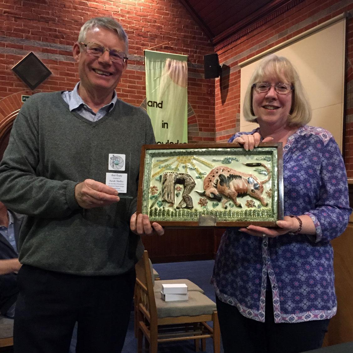 Bull Trophy Winner Sarah Shelley