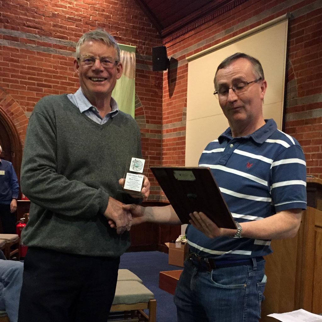 Castle Camera Trophy Winner Mark Cooper