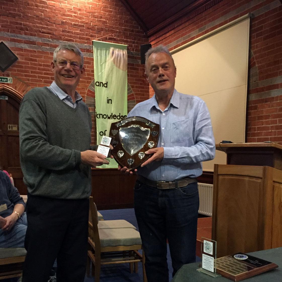 George Sanger Trophy Winner Tony Oliver