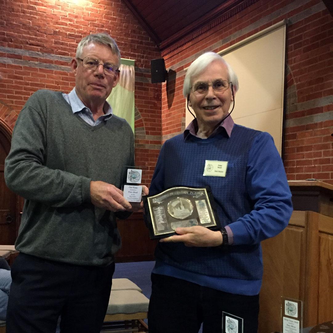Club Trophy Winner Peter Read