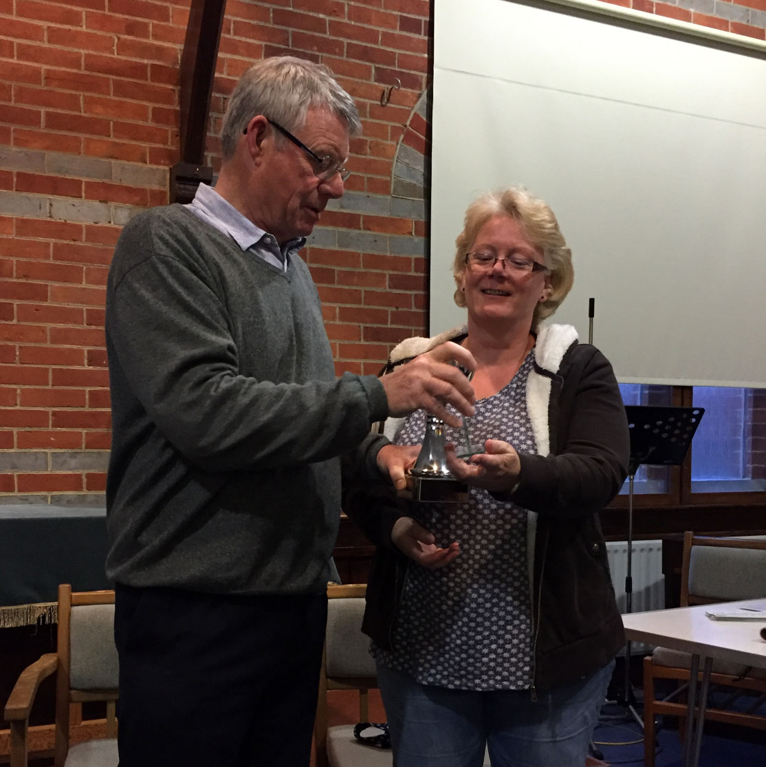 Toomey Trophy Winner Mandy Herridge