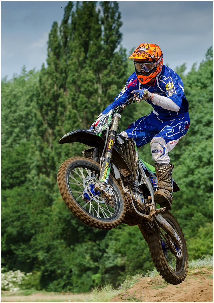 'Moto X Racer' by Philip Pleass