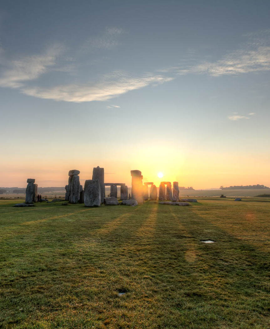 Third 'Stonehenge Sunrise' by John McNeilly