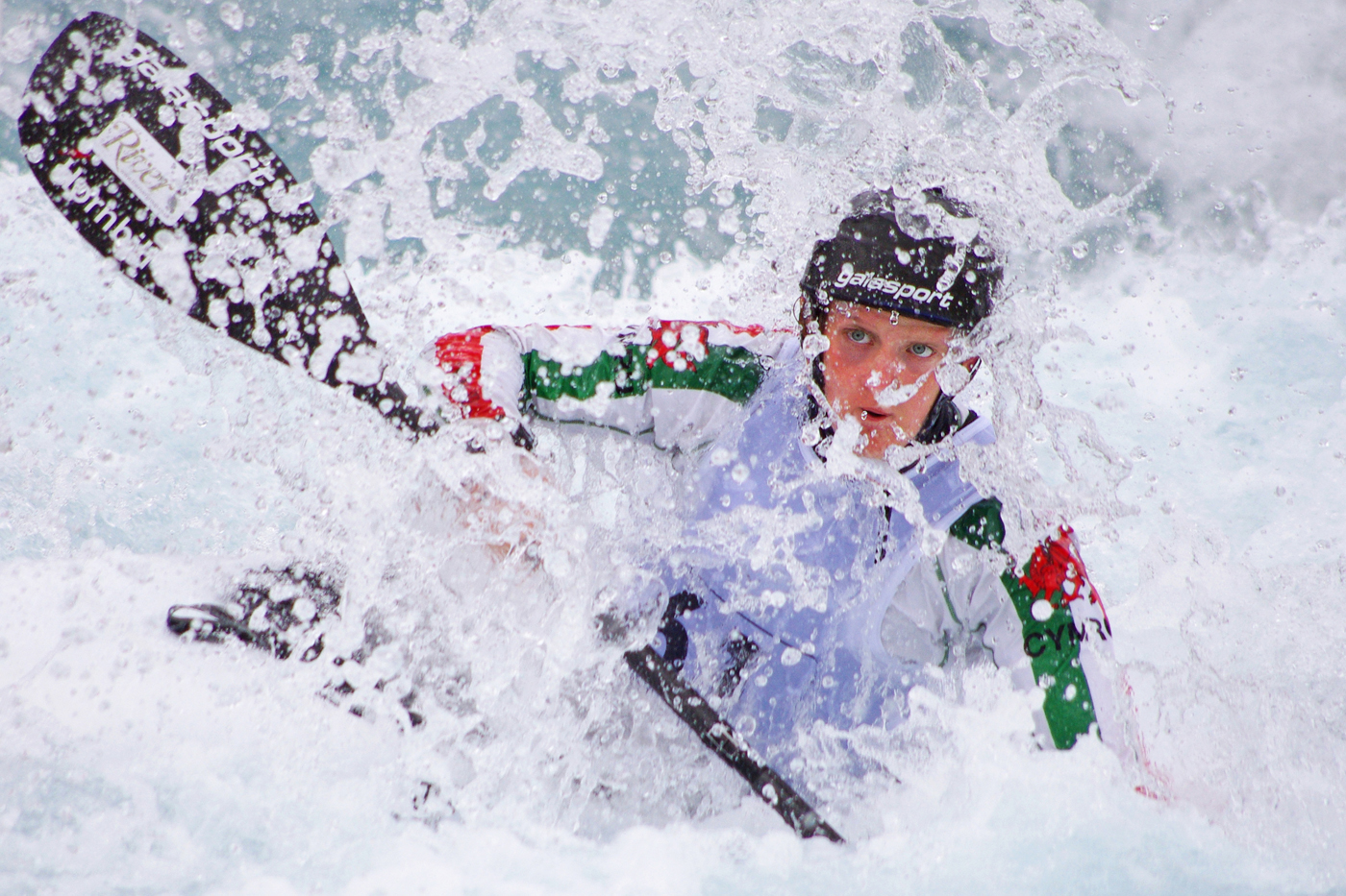 First 'White Water' by Richard Ramsay