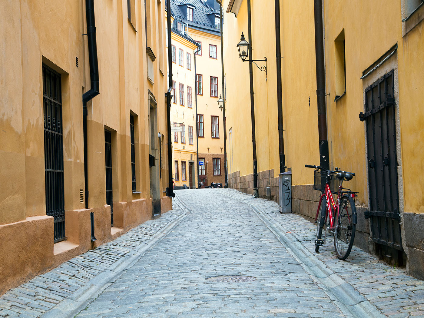 'Stockholm Streets' by Tony Oliver