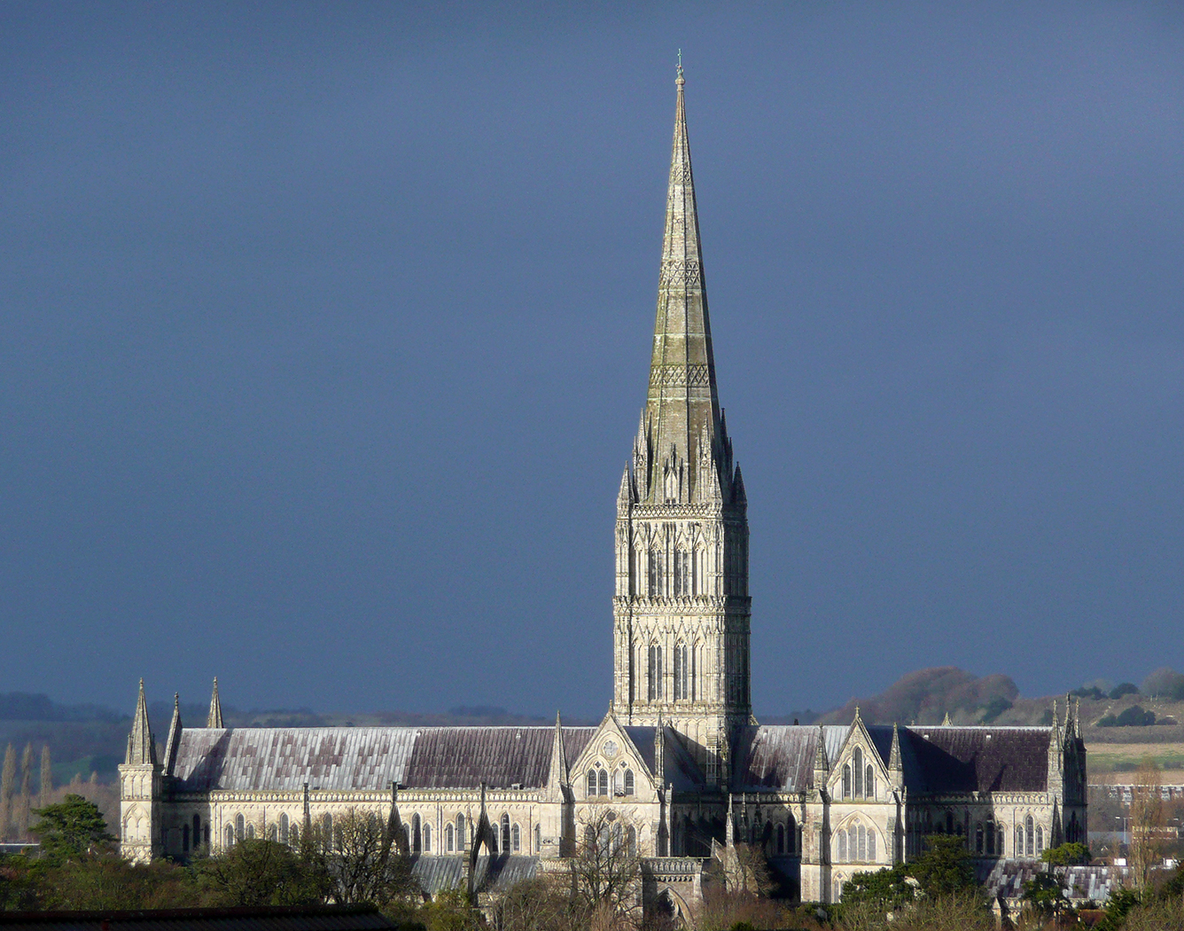 'Salisbury Cathedral' by Richard Temlett