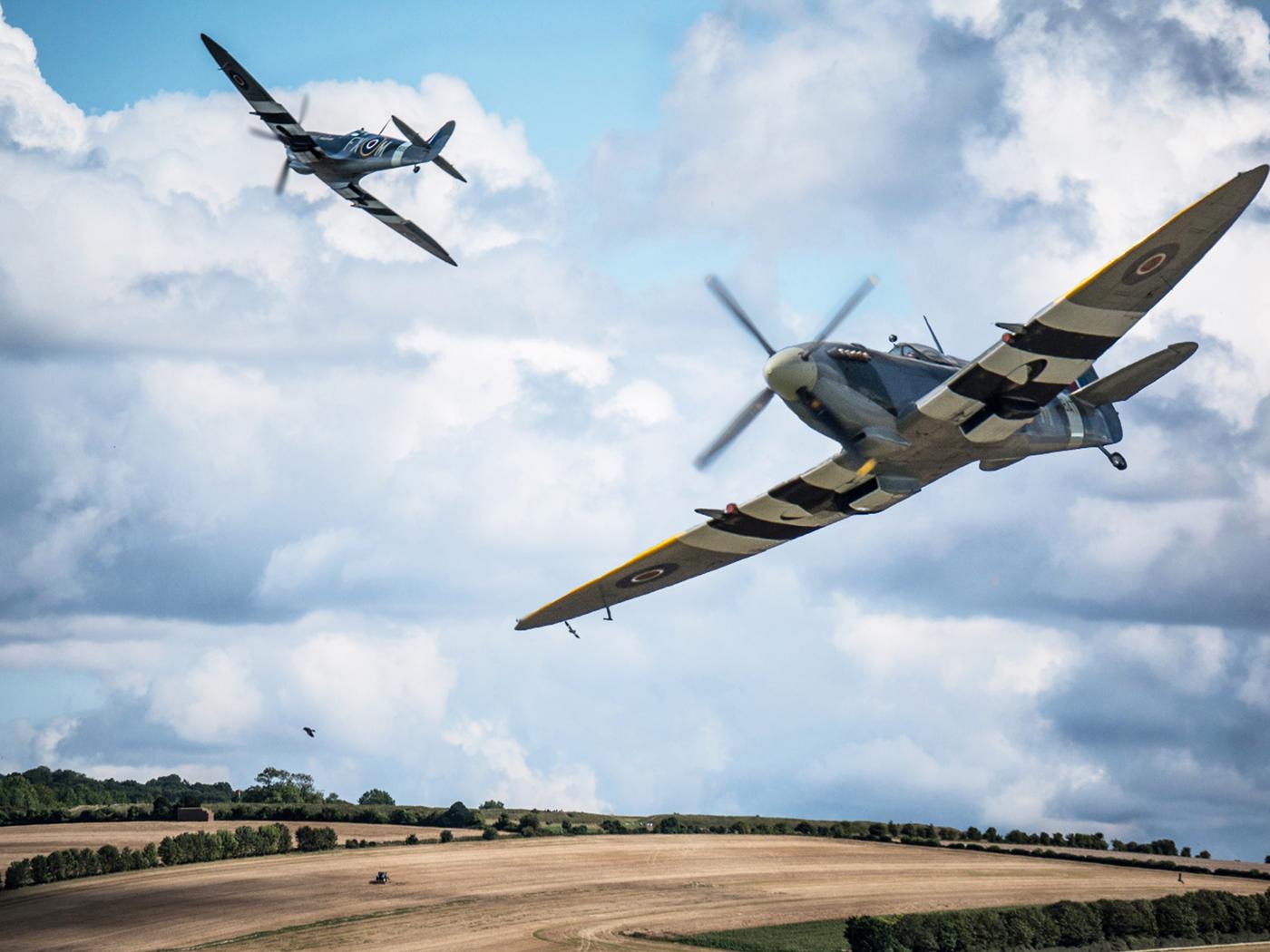 'Spitfire patrol' by Ian Porter