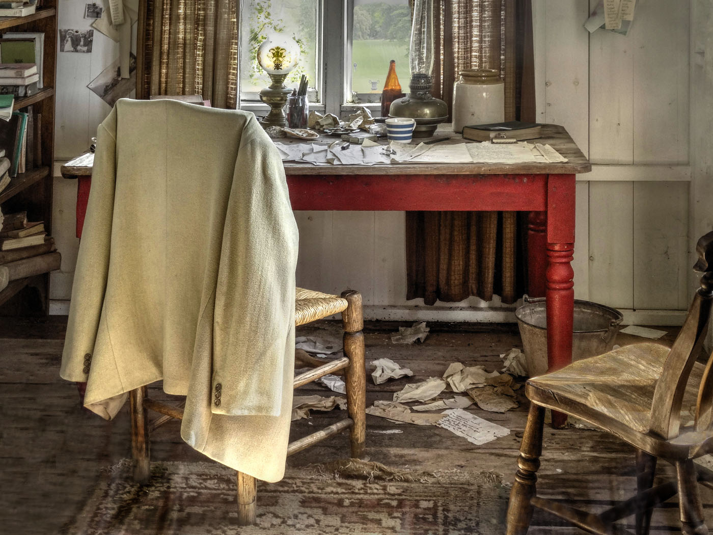 'Dylan Thomas's Workplace' by Peter Read