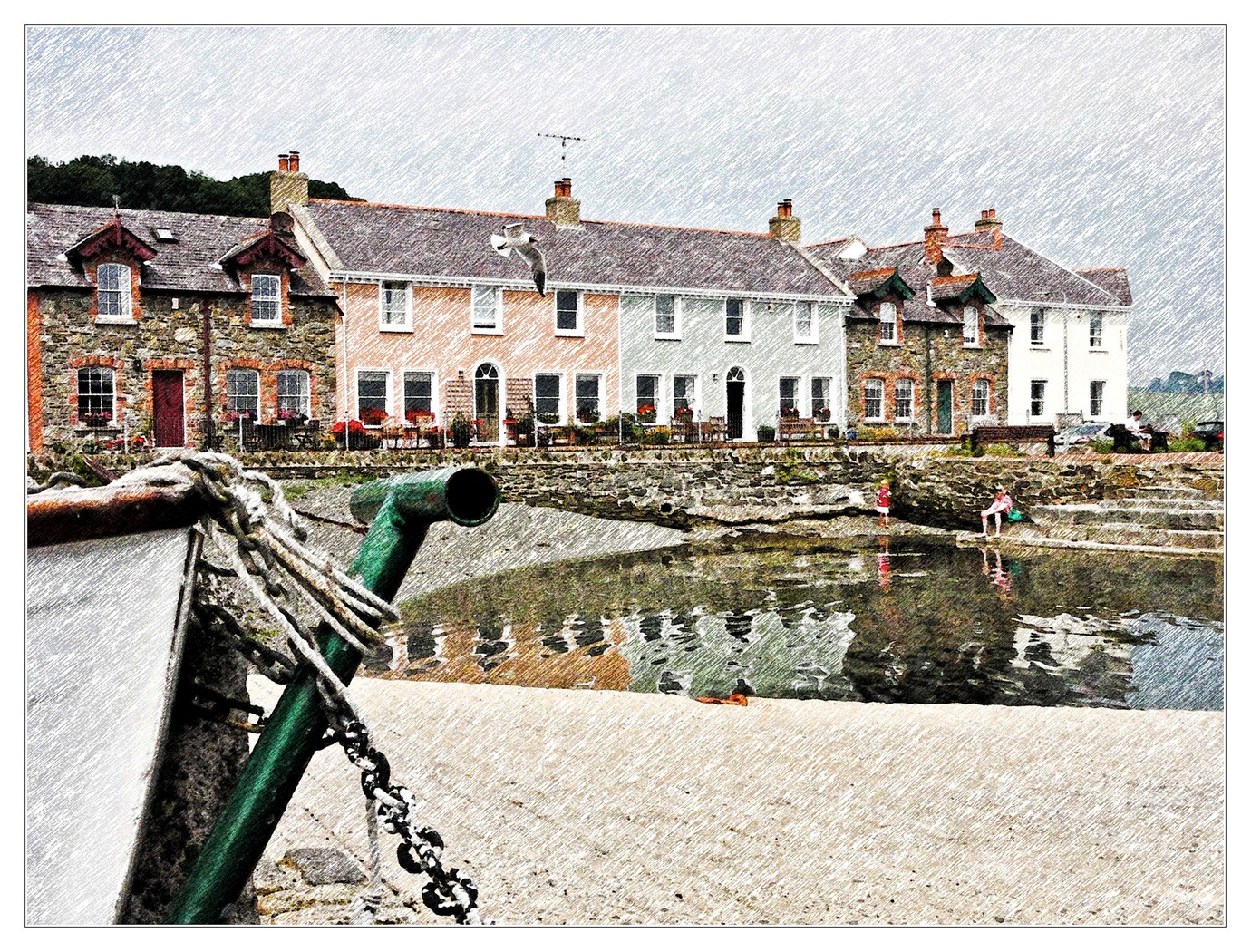'Strangford Quay' by Peter Read