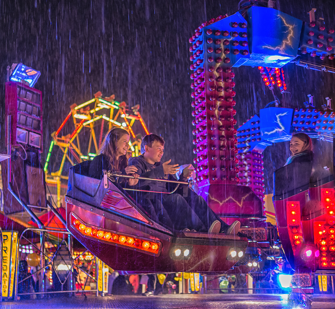 Joint Second 'All the Fun of the Fair' by Mark Cooper